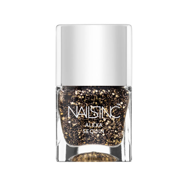 nails inc. Alexa Fabric Effects in Sequins