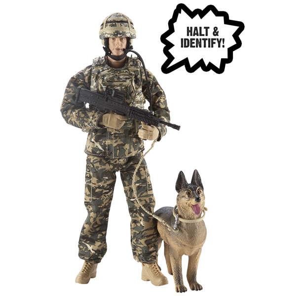 H M Armed Forces Raf Police Dog Handler Toys Zavvi