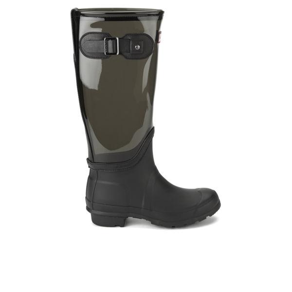 Hunter Women's Original Clear Leg Wellies - Slate
