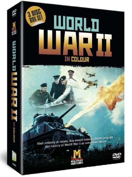 World War II In Colour DVD | Zavvi - 43.9KB