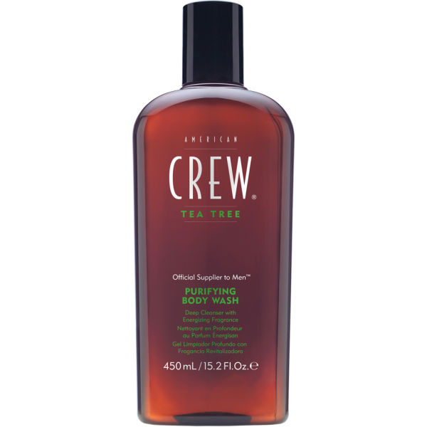 American Crew Tea Tree Purifying Body Wash 450ml Free