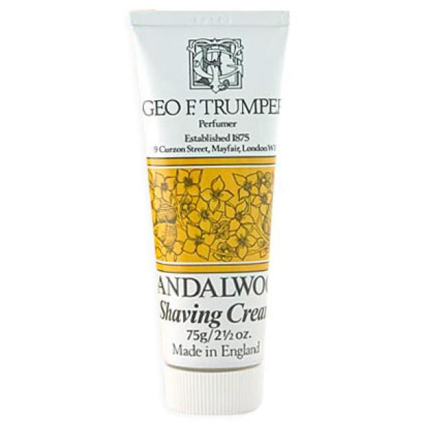 Trumpers Shave Cream - Sandalwood 75gm Tube