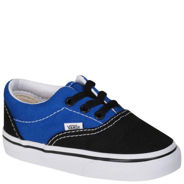 Vans Toddlers' ERA Canvas Two Tone Trainers - Black/ Snorkel Blue