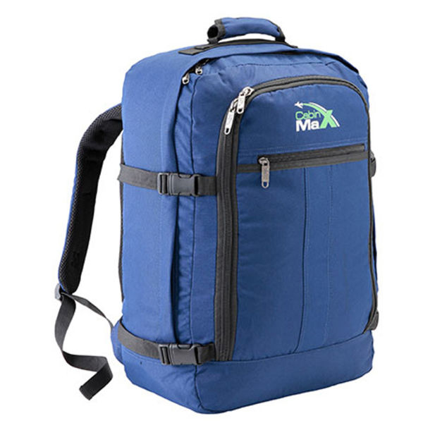 cabin max 44l backpack blue iwoot. Black Bedroom Furniture Sets. Home Design Ideas