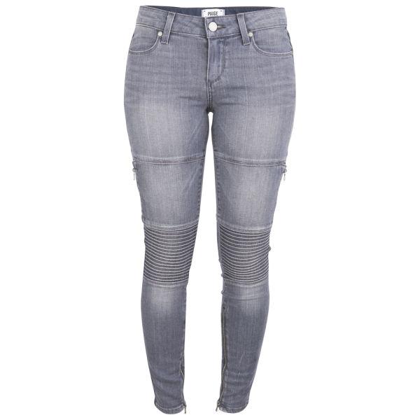 Paige Women's Demi Mid Rise Ultra Skinny Jeans - Hart