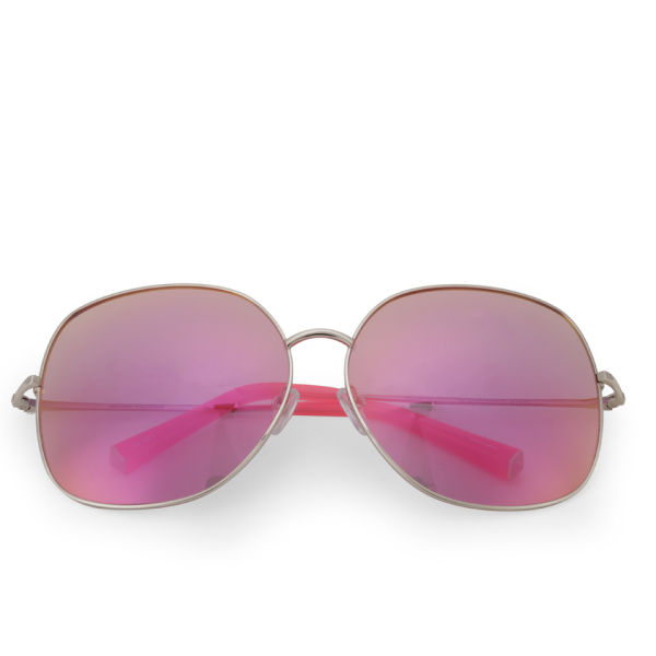 Matthew Williamson Oversized Revo Lens Sunglasses - Pink
