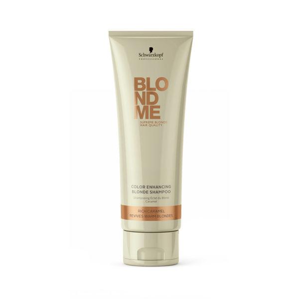 Schwarzkopf Blond Me shampoing éclat du blond caramel (250ml)