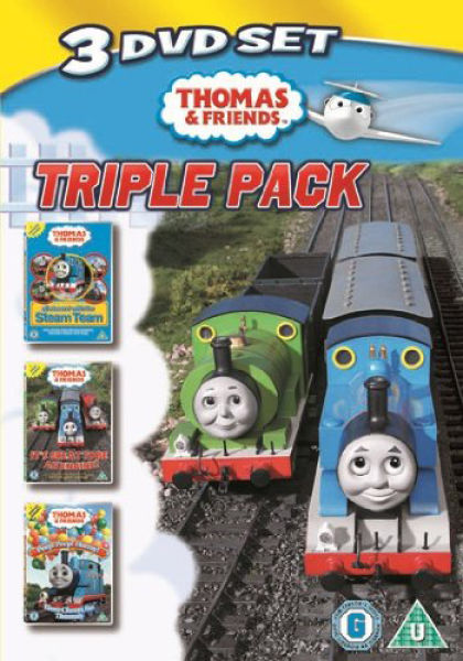Thomas And Friends Triple Pack Dvd Zavvi