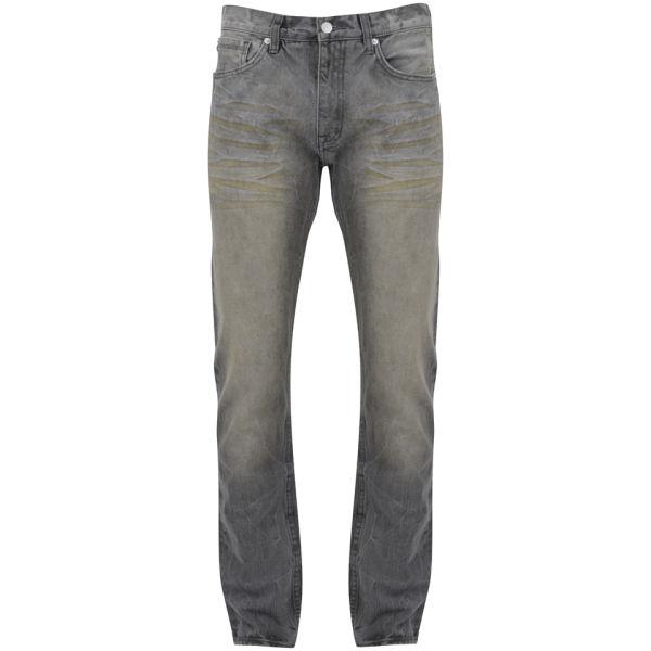 Billionaire Boys Club Men's Classic 5PKT Mid Rise Jeans - Grey Wash
