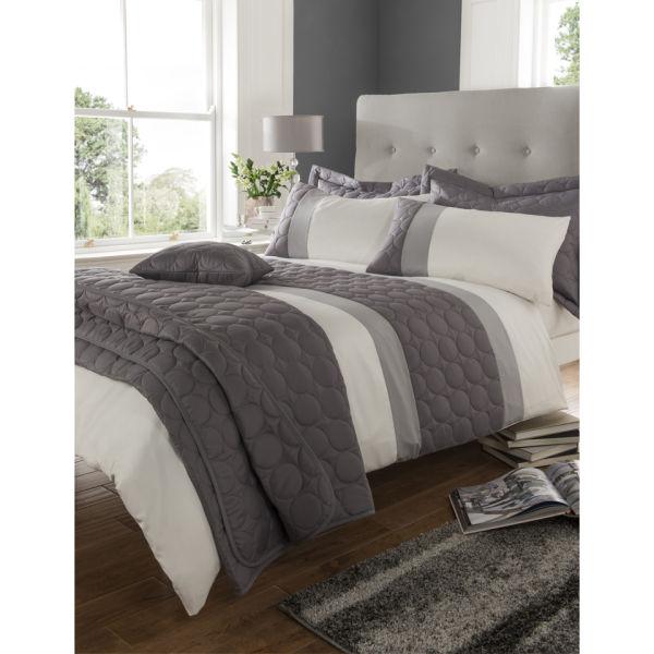 Catherine Lansfield Universal Bedding Set Charcoal Iwoot