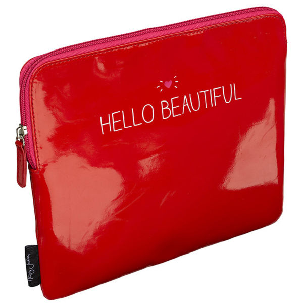 Hello Beautiful Red Tablet Case