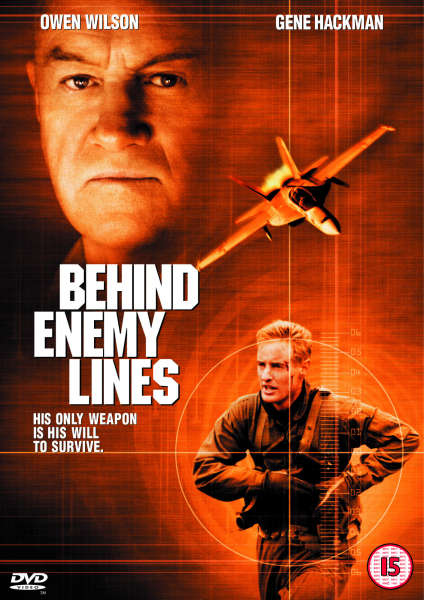Behind Enemy Lines Dvd Zavvi Com