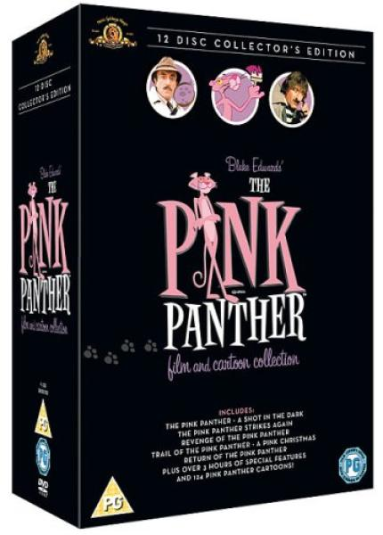 the pink panther film and cartoon collection dvd zavvi