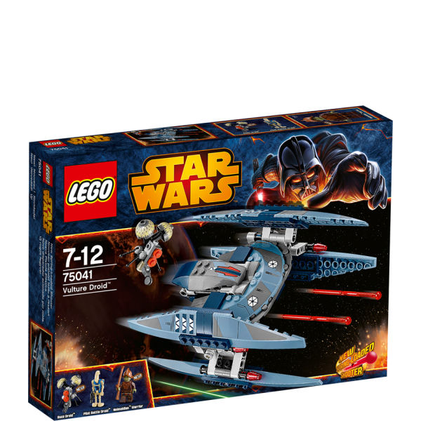 Lego star wars tm vulture droid 75041 iwoot - Lego star wars vaisseau droide ...