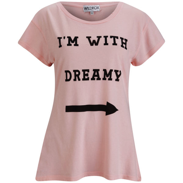 Wildfox Women's I'm With Dreamy T-Shirt - Peaches