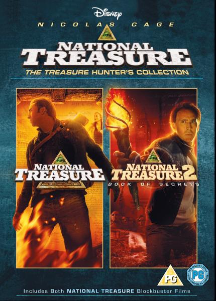 National Treasure/National Treasure 2: Book Of Secrets DVD ...