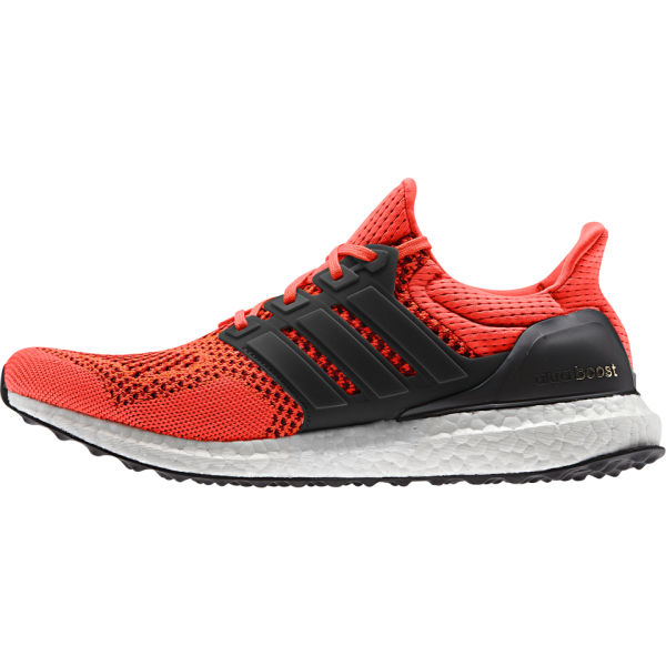 adidas Men's Ultra Boost Running Shoes - Red | ProBikeKit.com