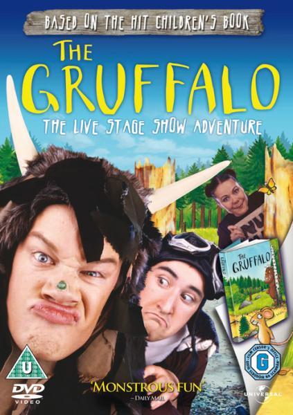 The Gruffalo Dvd Zavvi Com