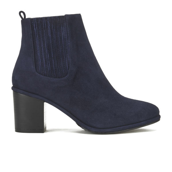 Opening Ceremony Women's Brenda Classic Suede Heeled Ankle Boots - Ink