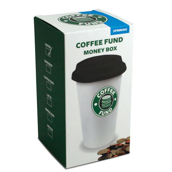 Coffee Fund Money Box