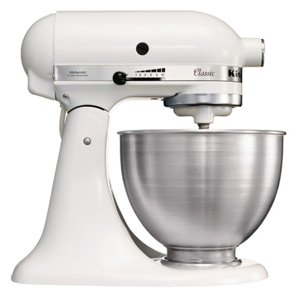 kitchenaid classic mixer white homeware