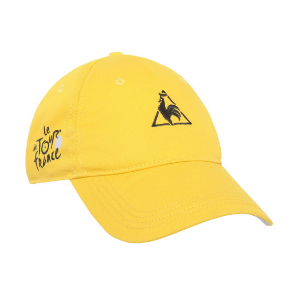 Le Coq Sportif Tour De France Cap Yellow Probikekit Uk