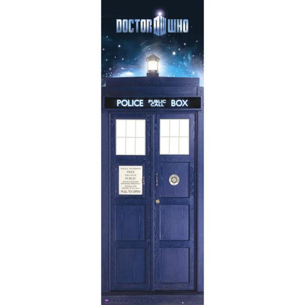 Doctor Who Tardis Door Poster 53 X 158cm Merchandise