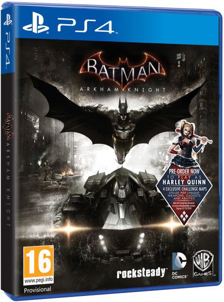 Batman Arkham Knight Includes Harley Quinn Dlc Ps4