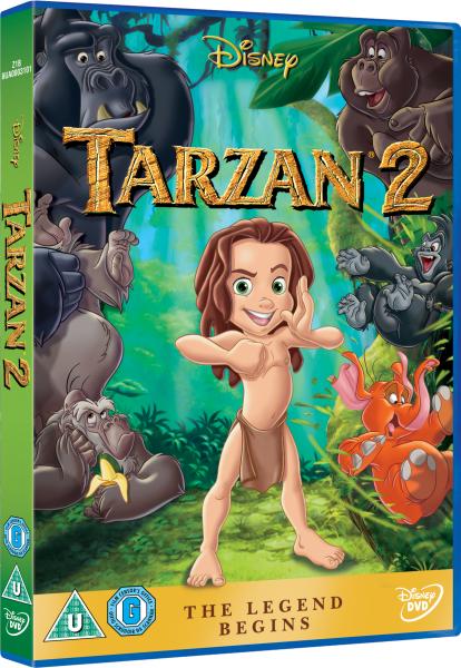 Tarzan 2 Dvd Tarzan 2 Dvd Select Image