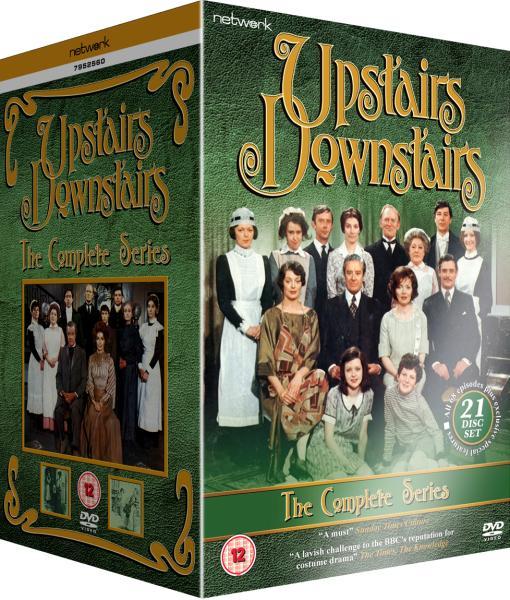 Upstairs Downstairs Complete Series Repackaged 21dvd