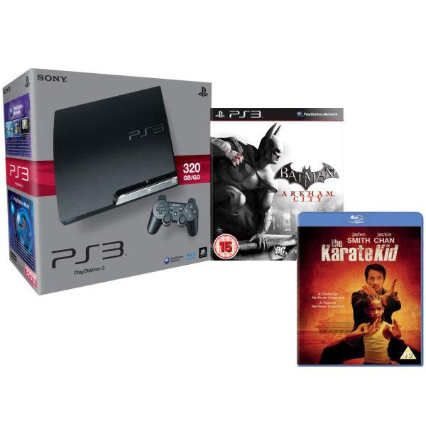 Playstation 3 Ps3 Slim 320gb Console Bundle Includes