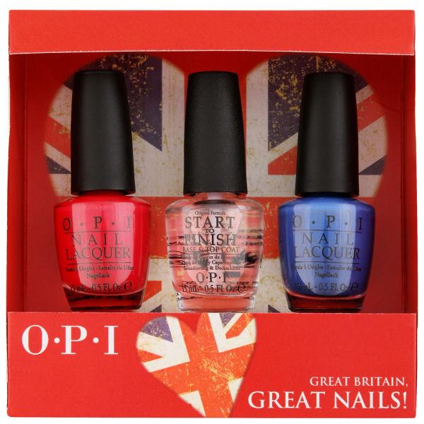 Opi Exclusive British Nail Gift Set Free Shipping Lookfantastic