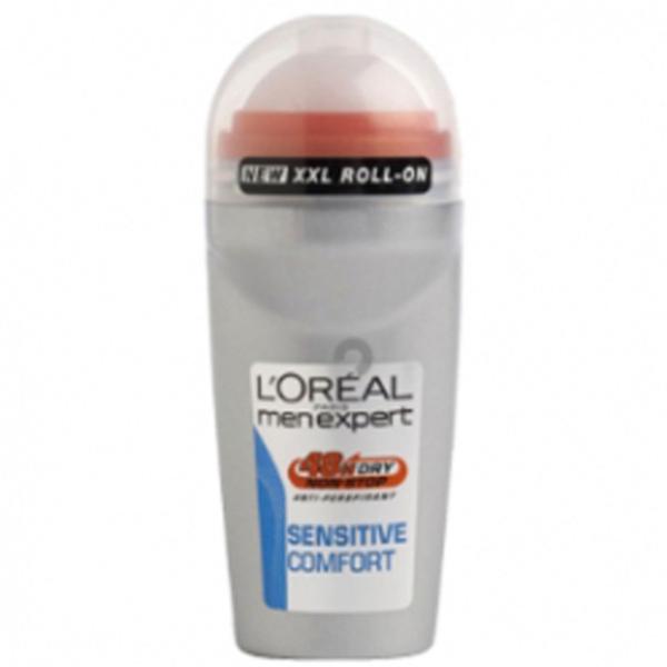 L'Oréal Men Expert Sensitive Comfort Deodorant Roll-On (50ml)