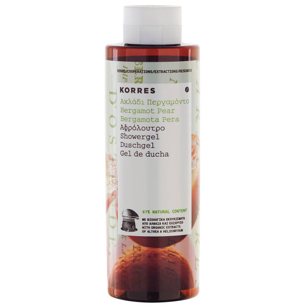 Gel douche Korres - bergamote poire (250ml)
