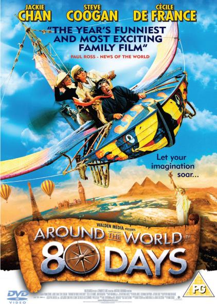 Around The World In 80 Days 2004 Dvd Zavvi