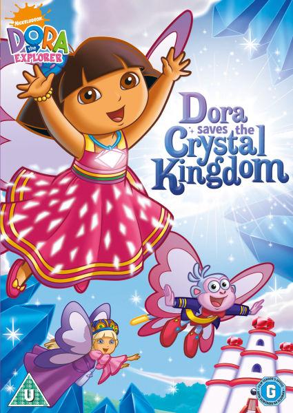 Dora The Explorer Dora Saves The Crystal Kingdom Dvd Zavvi