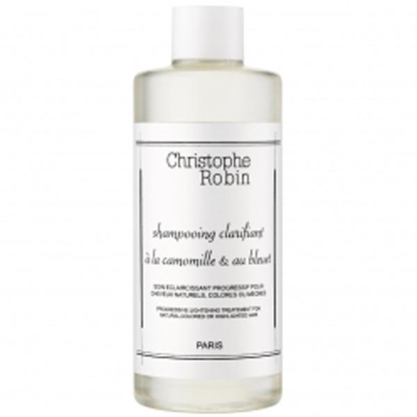 Shampoo schiarente con camomilla e fiordaliso Christophe Robin(250ml)