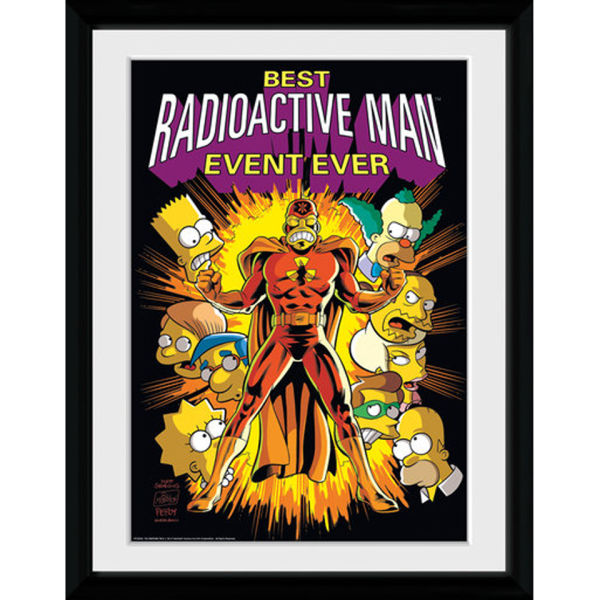 The Simpsons Best Rm Ever - 30x40 Collector Prints