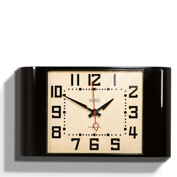 Metro Wall Clock - Black