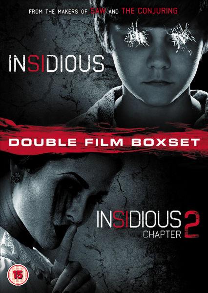 Insidious 1 And 2 Dvd Zavvi