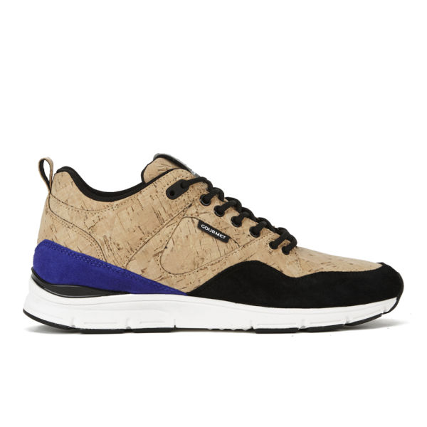 Gourmet Men's 35 Lite Cork LX Trainers - Gold Cork/Black