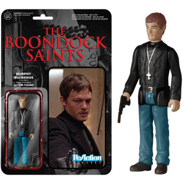 ReAction Boondock Saints Murphy MacManus 3 3/4 Inch Action Figure