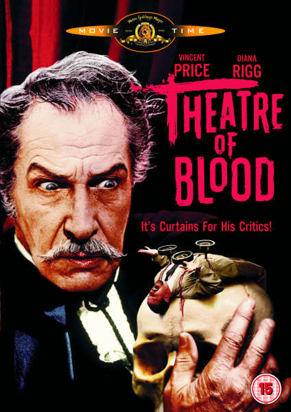 Theatre Of Blood Dvd Zavvi