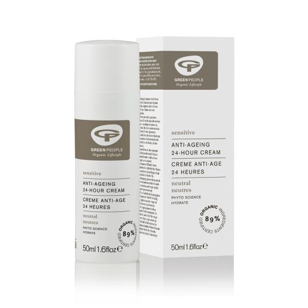 Organic Base Neutral Scent Free 24 Hour Cream de Green People (50 ml)