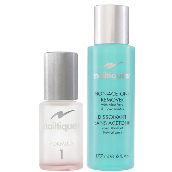 Nailtiques Nail Protein Formula 1 (14.8ml) With Free Polish Remover