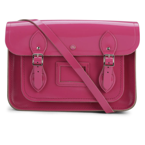 The Cambridge Satchel Company 13 Inch Patent Leather Satchel - Orchid
