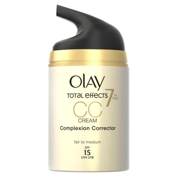 Olay Total Effects crème CC réduction des pores - Claire/Moyenne (50ml)