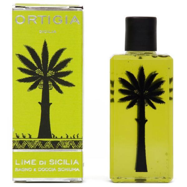 Gel de ducha de lima siciliana de Ortigia (250 ml)