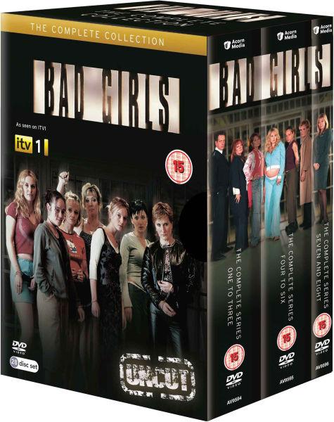 bad girls series 1 8 dvd. Black Bedroom Furniture Sets. Home Design Ideas