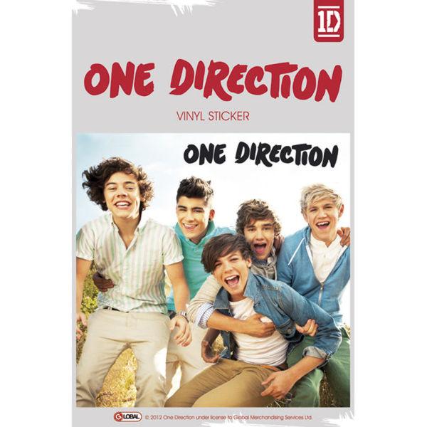 One Direction Album Vinyl Sticker 10 X 15cm Iwoot